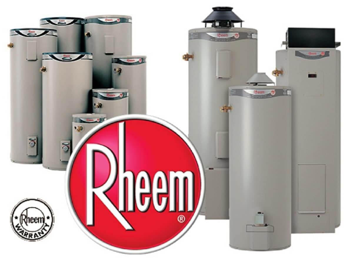 Rheem Hot Water Heaters